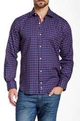 Tailorbyrd Fordham Long Sleeve Woven Shirt Blue