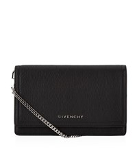 Givenchy Pandora Wallet With Chain Strap Female Black