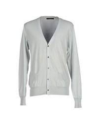 Become Knitwear Cardigans Men Light Grey
