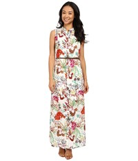 Kut From The Kloth Violet Printed Maxi Dress Fuchsia Women's Dress Pink