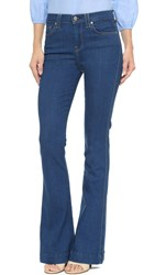 7 For All Mankind The High Waisted Trouser Jeans French Blue Rinse