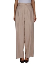 Semi Couture Casual Pants Beige