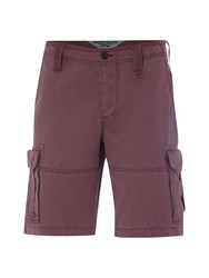 White Stuff Rockland Cargo Short Raspberry