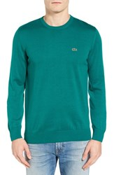 Lacoste Men's Jersey Crewneck Sweater Carthusian Chine