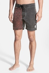 Insight 'Tough Crowd' Washed Board Shorts Multi