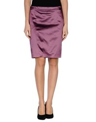 Gianfranco Ferre Gf Ferre' Skirts Knee Length Skirts Women Purple