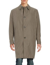 Bugatti Button Front Raincoat Green