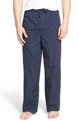 Men's Nordstrom Men's Shop Woven Lounge Pants Navy Micro Check
