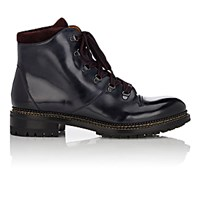 O'keeffe Men's Leather Hiking Boots Navy
