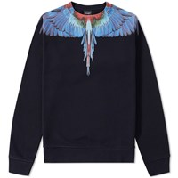 Marcelo Burlon Tecka Crew Sweat Black
