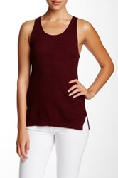 Marc By Marc Jacobs Compact Cotton Tank Red