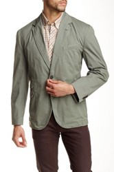 Kroon Taylor Two Button Notch Lapel Sport Coat Gray