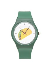 Forever 21 Taco Graphic Analog Watch