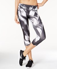 Ideology Printed Mesh Cropped Leggings Only At Macy's Noir Excel