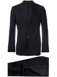 Z Zegna Two Piece Suit Blue
