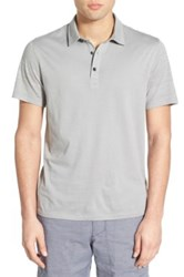 Howe 'Kendall' Jersey Polo Gray