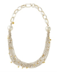 Gurhan Multi Chain Bib Necklace