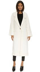 Apiece Apart Oversized Vida Coat Ivory
