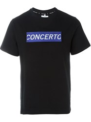 Opening Ceremony 'Concerto' Patch T Shirt Black
