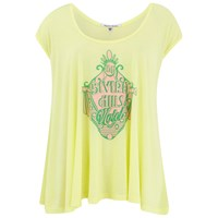 Wildfox Couture Wildfox Women's Beverly Hills Sign Tulum Tunic Yellow Daisy