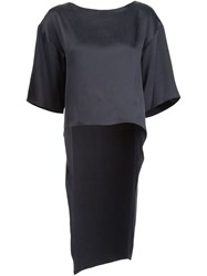 Narciso Rodriguez Tail Blouse Black