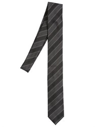 Dolce And Gabbana 6Cm Striped Silk Jacquard Tie