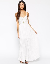 Meghan Fabulous Wendy Moira Maxi Dress Ivory