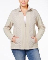 Styleandco. Style Co. Plus Size Quilted Active Jacket Only At Macy's Pure Cashmere