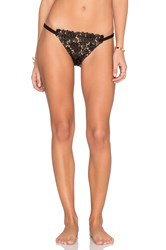 For Love And Lemons Valencia Bikini Bottom Black