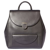 Modalu Flora Small Leather Backpack Black