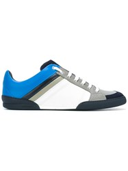 Christian Dior Homme Lace Up Sneakers Blue
