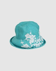 Yesey Accessories Hats Women Turquoise