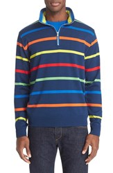 Men's Paul And Shark Long Sleeve Stripe Polo