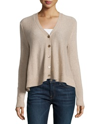 Minnie Rose Cashmere Swing Cardigan French Taupe