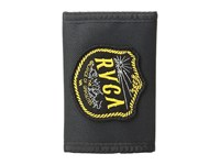 Rvca Segnar Nylon Wallet Black Wallet Handbags
