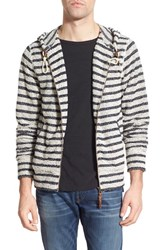 Men's Billy Reid 'Vance' Stripe Hoodie