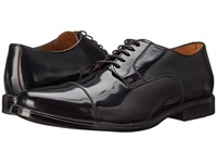 Bostonian Kinnon Cap Black Leather Men's Lace Up Cap Toe Shoes