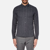 Ymc Men's Curtis Shirt Navy
