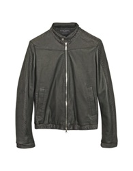 Forzieri Black Python And Calfskin Motorcycle Jacket