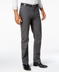 Alfani Men's Big And Tall Slim Straight Fit Jeans Only At Macy's Medium Grey