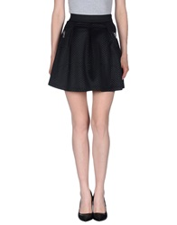 Naf Naf Mini Skirts Black