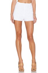 Lucca Couture High Waist Short White