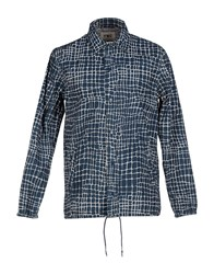 Ymc You Must Create Shirts Shirts Men Slate Blue