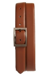Ted Baker Men's London Campbel Reversible Leather Belt Tan