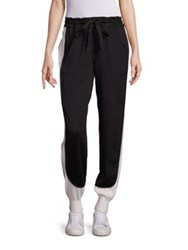 Dkny Side Striped Jogger Pants Black