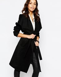 Jdy J.D.Y Wrap Belted Coat Black