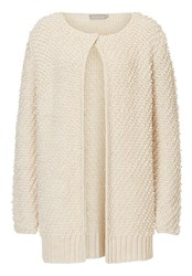 Betty And Co. Chunky Knit Cardigan Cream