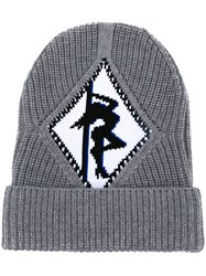 Alexander Wang Argyle Girl Beanie Grey