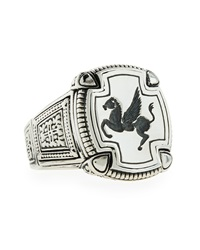 Konstantino Men's Pegasus Square Ring