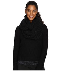 Lole Eternity Scarf Popcorn Black Scarves